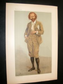 Vanity Fair Print 1896 Thomas Henry Hall Caine